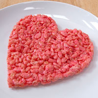 Valentines Day Rice Crispie Treat